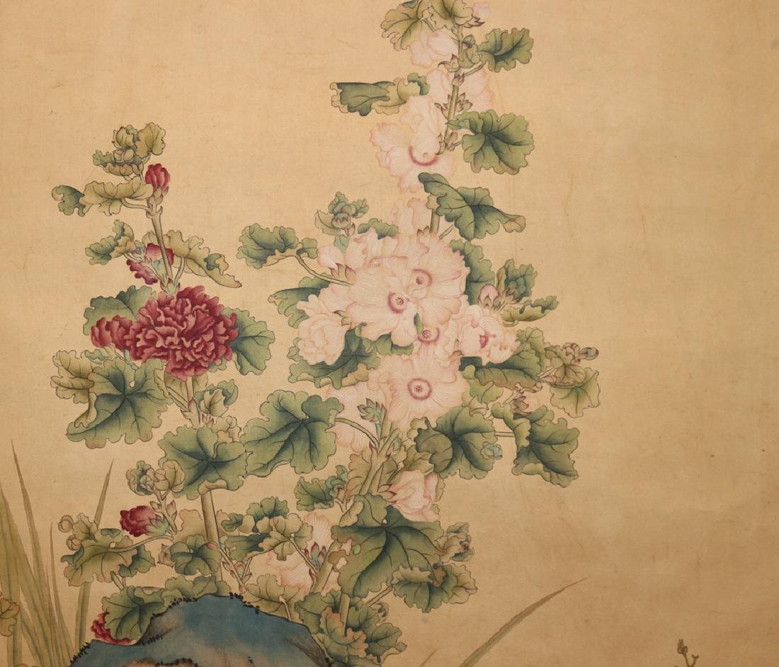 Chinese  Scrolling Painting, Attribute to Lang Shining - 6