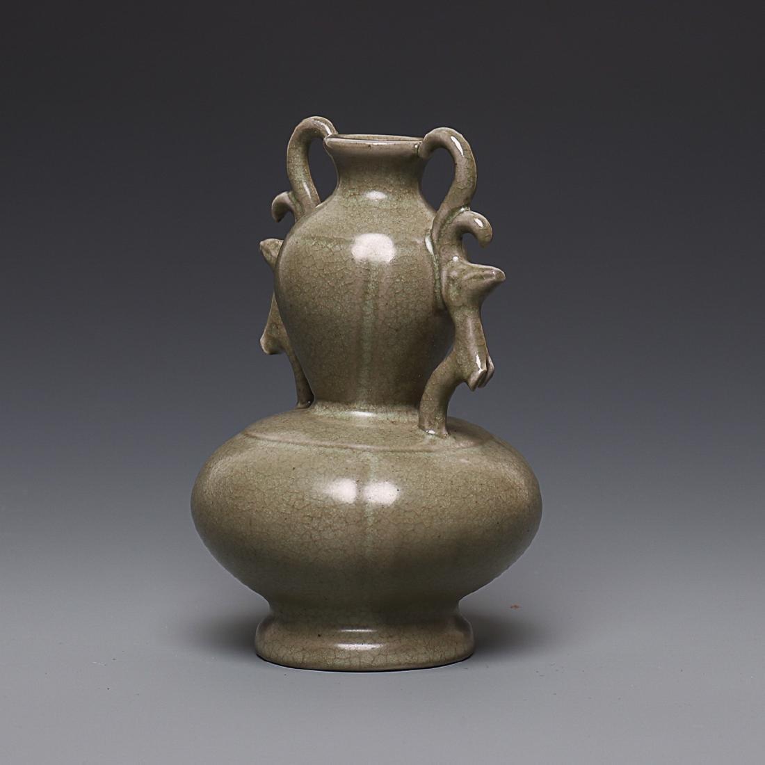 Vintage Chinese  Porcelain pot  Vase - 2