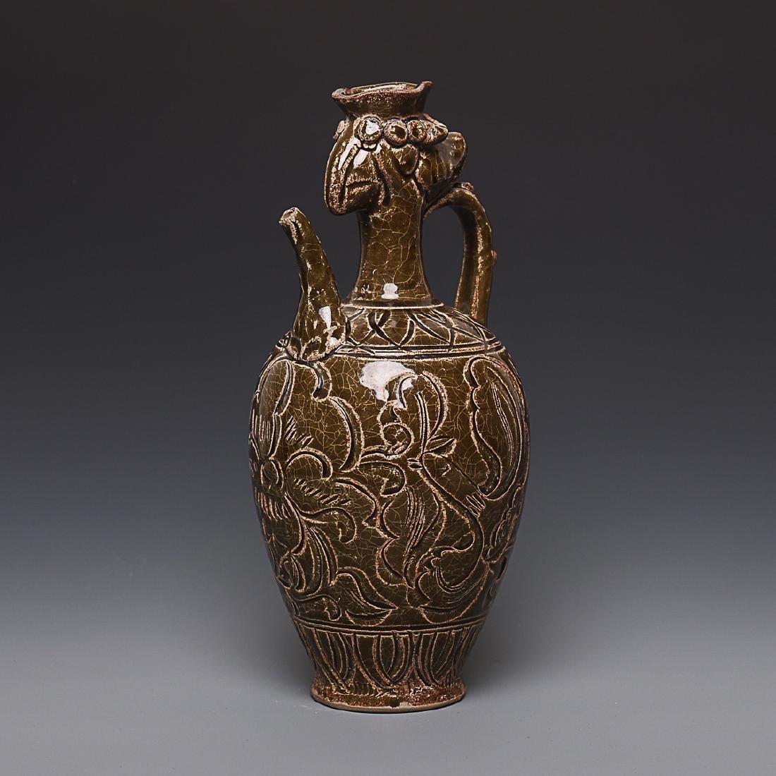 Vintage Chinese Porcelain Pot - 2
