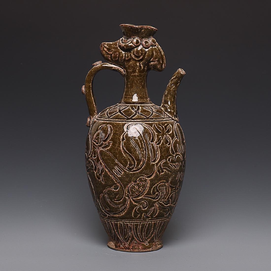 Vintage Chinese Porcelain Pot - 3