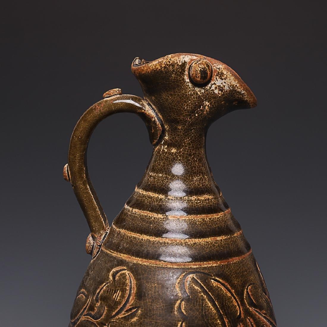 Vintage Chinese Porcelain Pot - 5