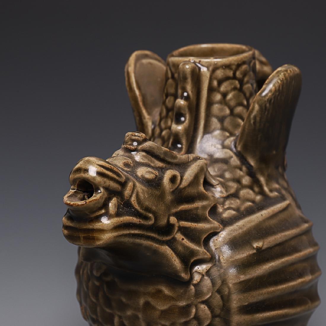 Vintage Chinese Porcelain Pot - 6