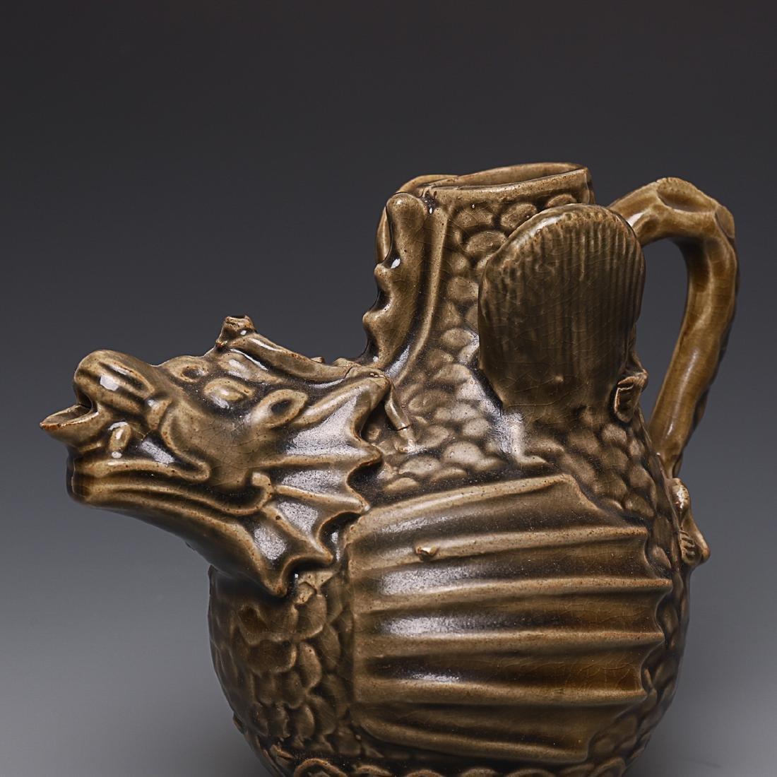 Vintage Chinese Porcelain Pot - 7