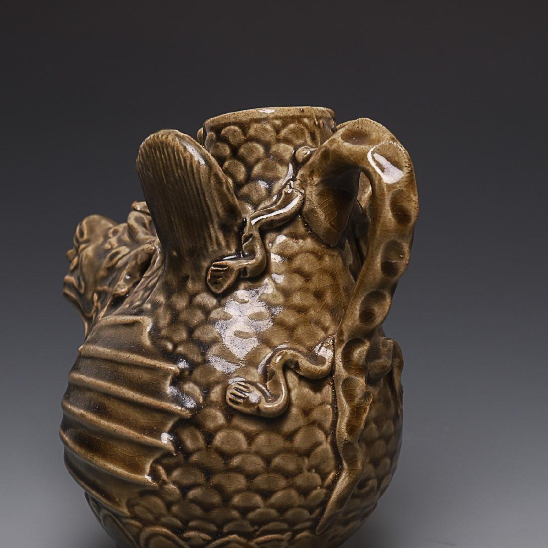 Vintage Chinese Porcelain Pot - 8