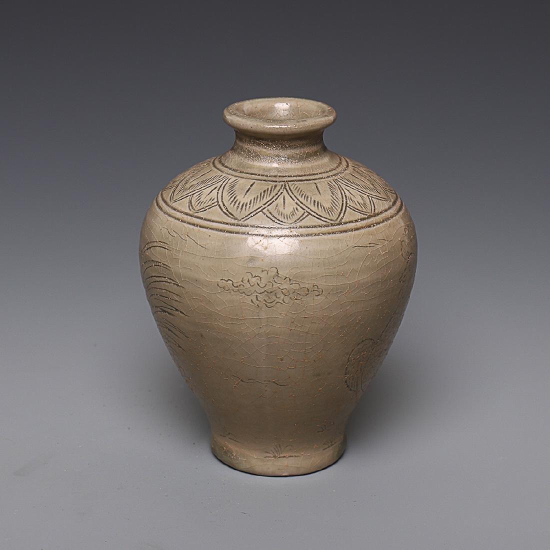 Vintage Chinese Porcelain pot Vase - 3