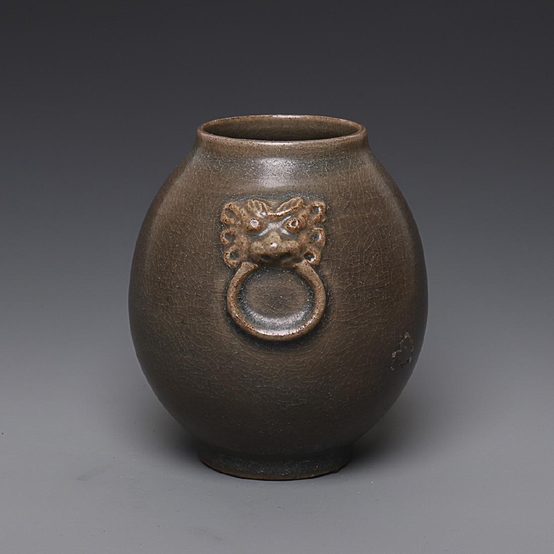 Vintage Chinese Porcelain Jar - 2