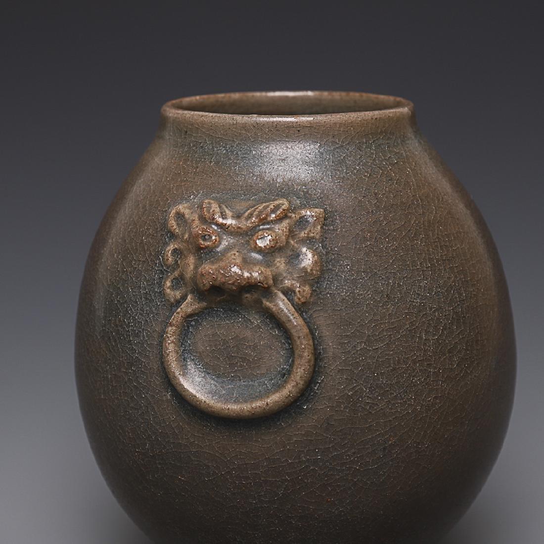 Vintage Chinese Porcelain Jar - 3