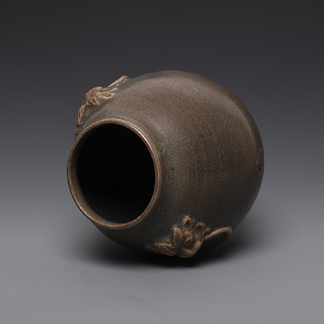 Vintage Chinese Porcelain Jar - 5