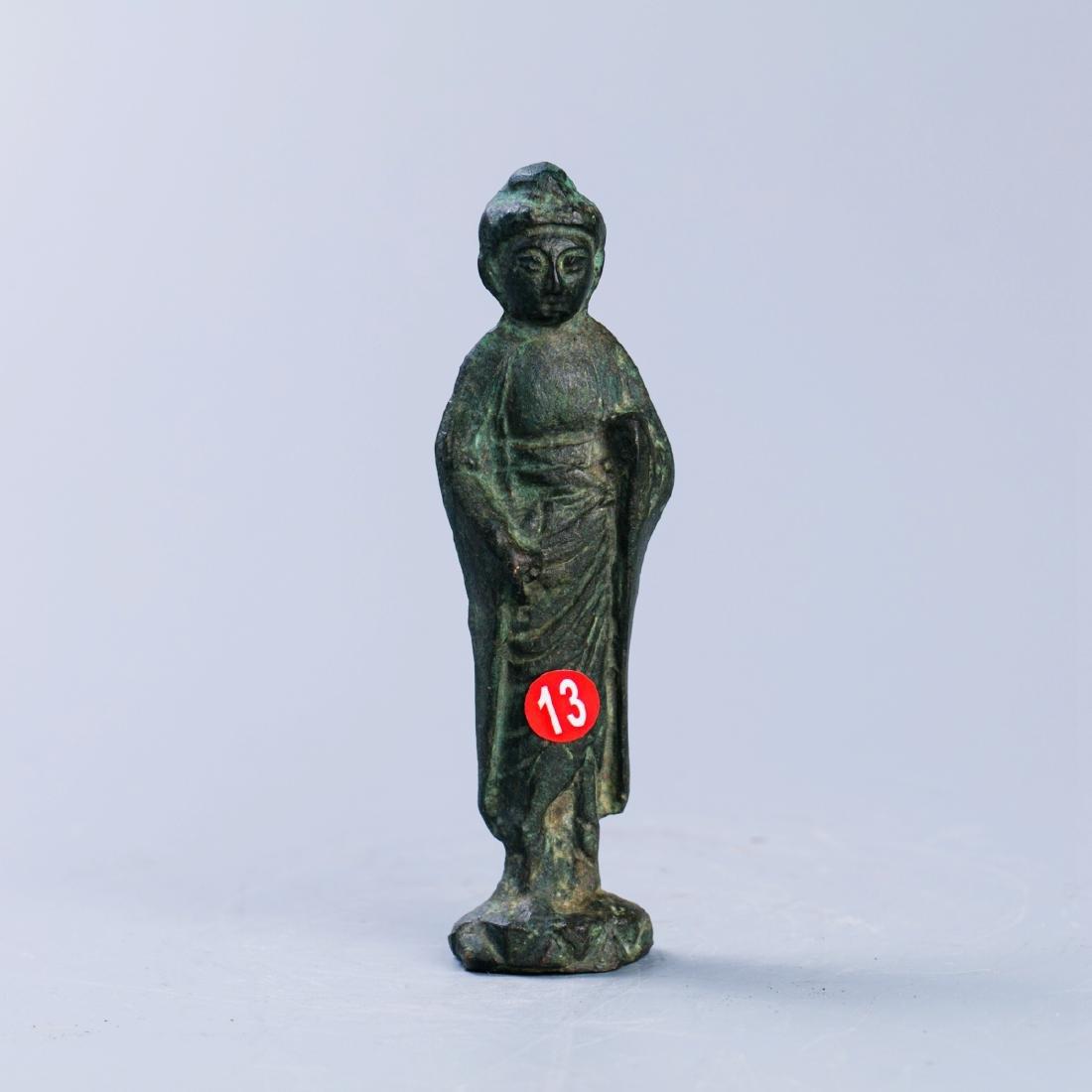 A Chinese  Bronze Buddha Figure