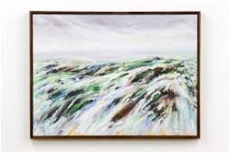 Paul M. Czirban (b. 1946) Abstract Landscape Painting