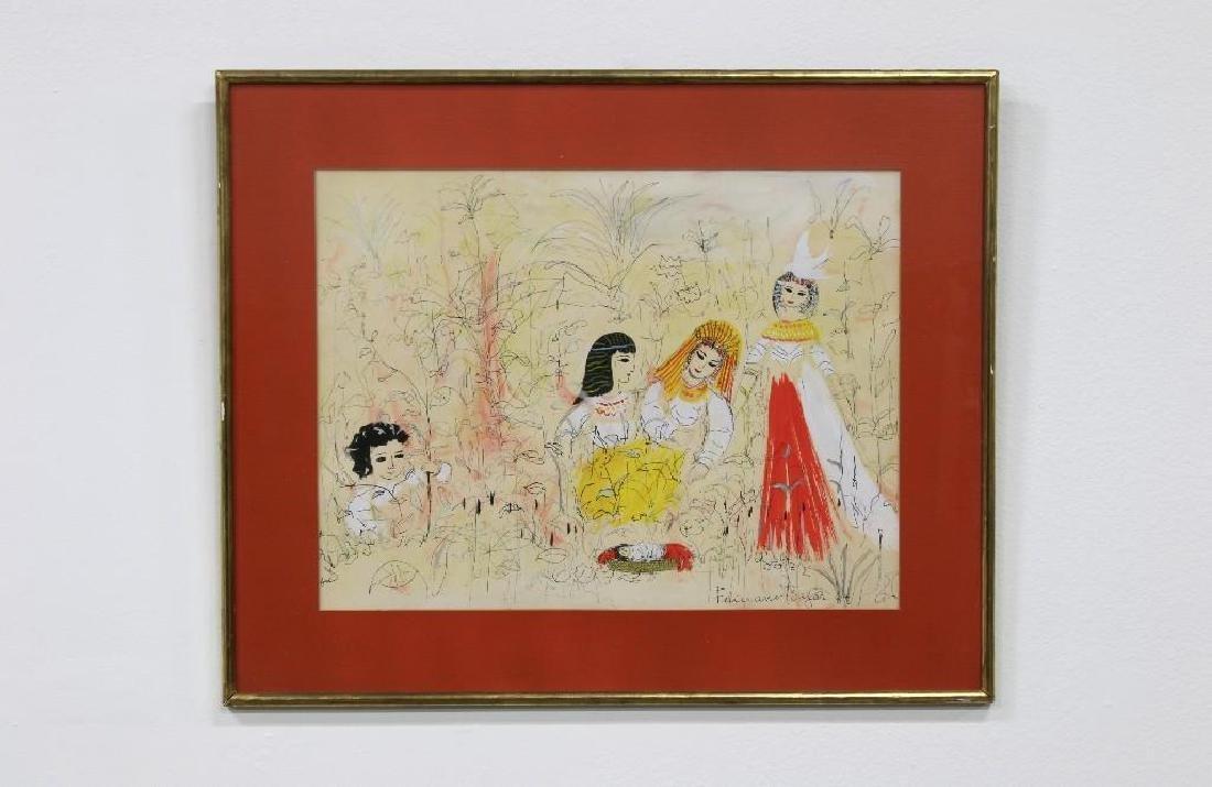 Feliciano Bejar (1920-2007) Drawing