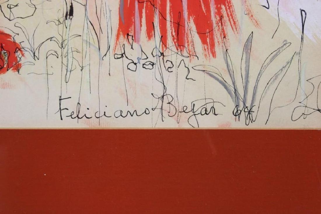 Feliciano Bejar (1920-2007) Drawing - 2