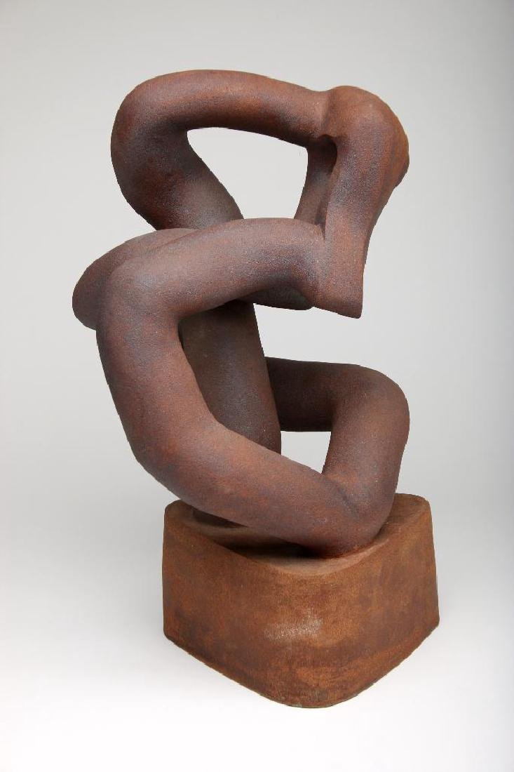 Abstract Stoneware Sculpture