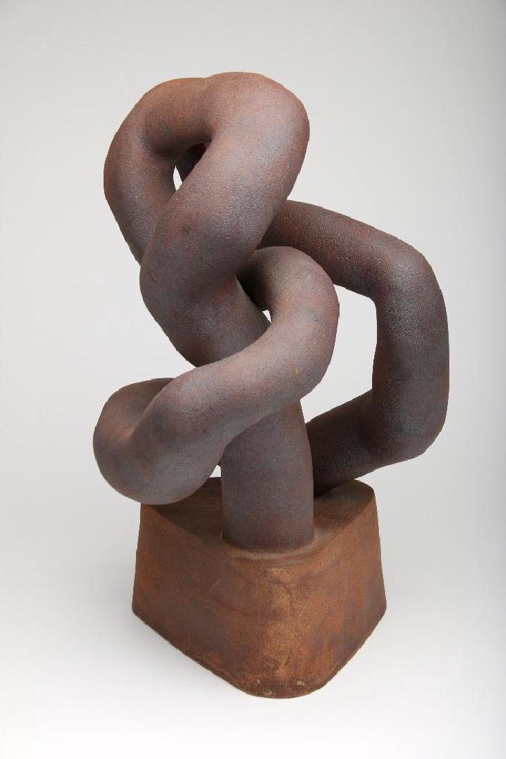 Abstract Stoneware Sculpture - 3