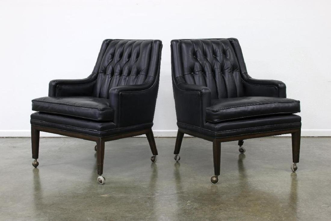 Pair of Monteverdi Young Leather Chairs