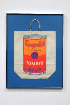 Andy Warhol Campbell's Soup Can Shopping Bag, 1966
