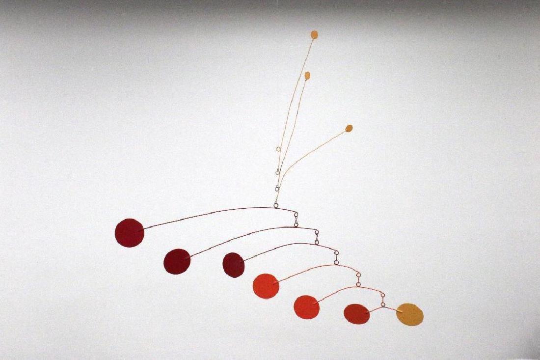Mid Century Mobile Kinetic Sculpture Calder Style