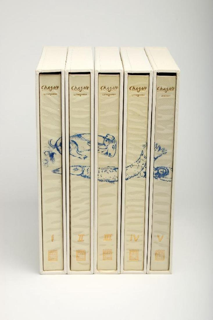 Publishers 2000 Chagall Lithographe 1-5, 1978 Japanese - 2