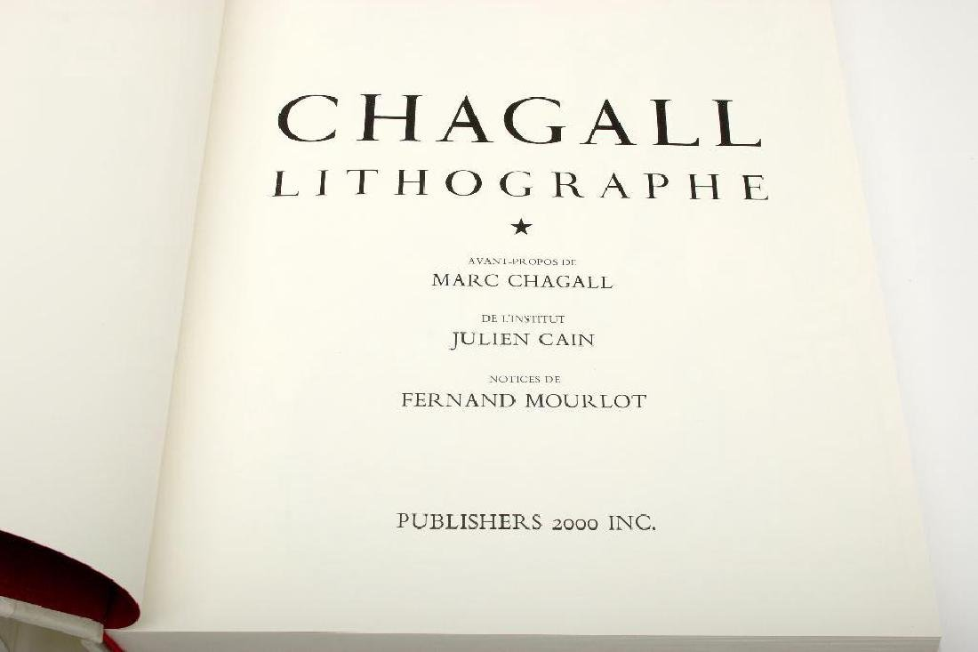 Publishers 2000 Chagall Lithographe 1-5, 1978 Japanese - 4