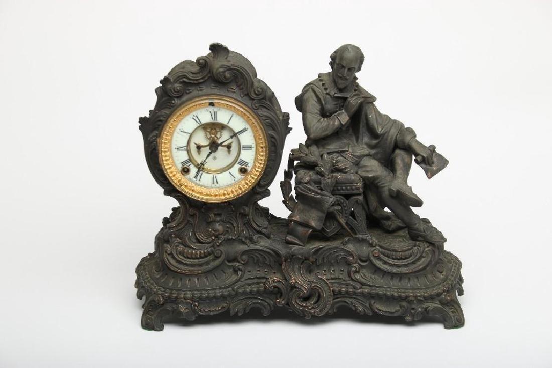 Vintage mantel clock foreign