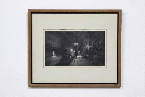 Stow Wengenroth Two Etchings Signed and Numbered