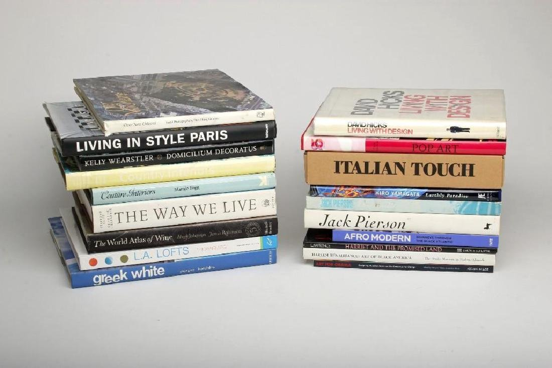 Book Lot 31 Volumes Art and Design Photography