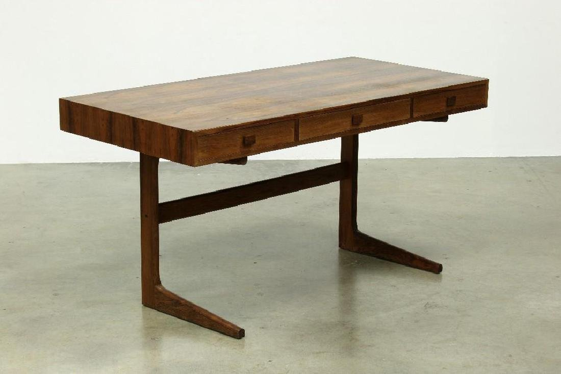 Georg Petersens Mobelfabrik Rosewood Cantilever Desk