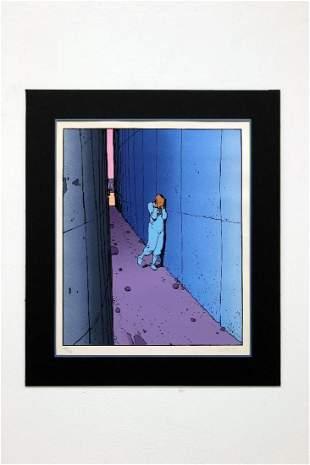 Jean Giraud Moebius Animation Art Print Signed Numbered
