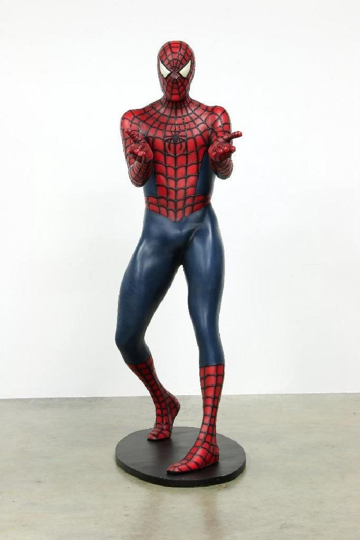 "Life Size Spider-Man Replica Model 69"" High"