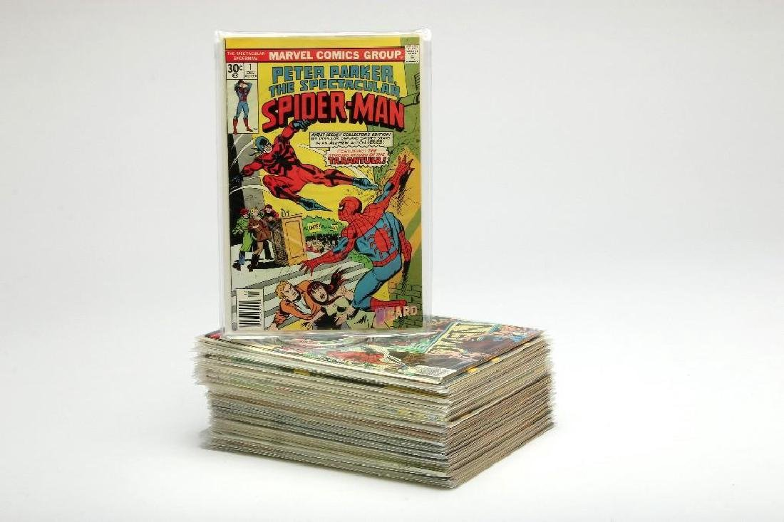 Peter Parker, The Spectacular Spider-Man Comic Lot