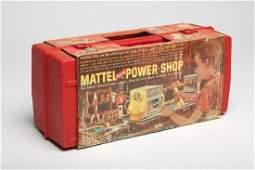Vintage Mattel Power Shop Toy in Box