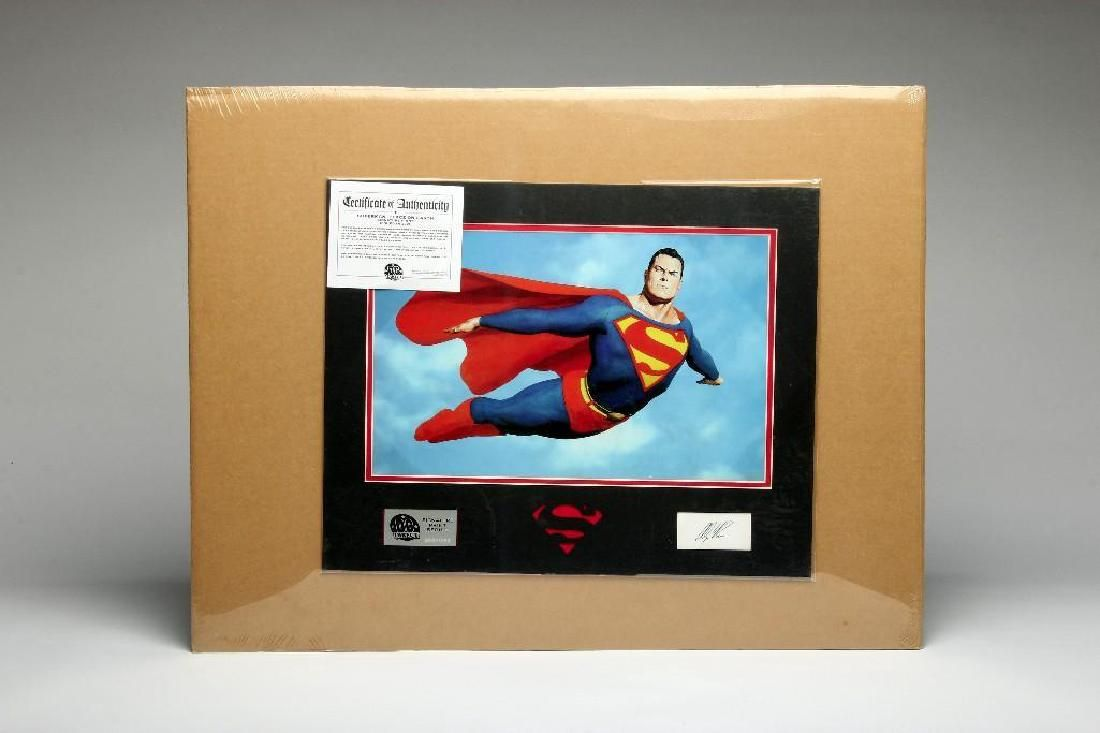 Alex Ross Superman Peace On Earth Lithograph Signed Ltd