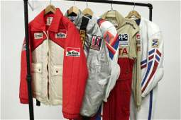 Five Racing Team Driving Suit Jackets Leather Coveralls