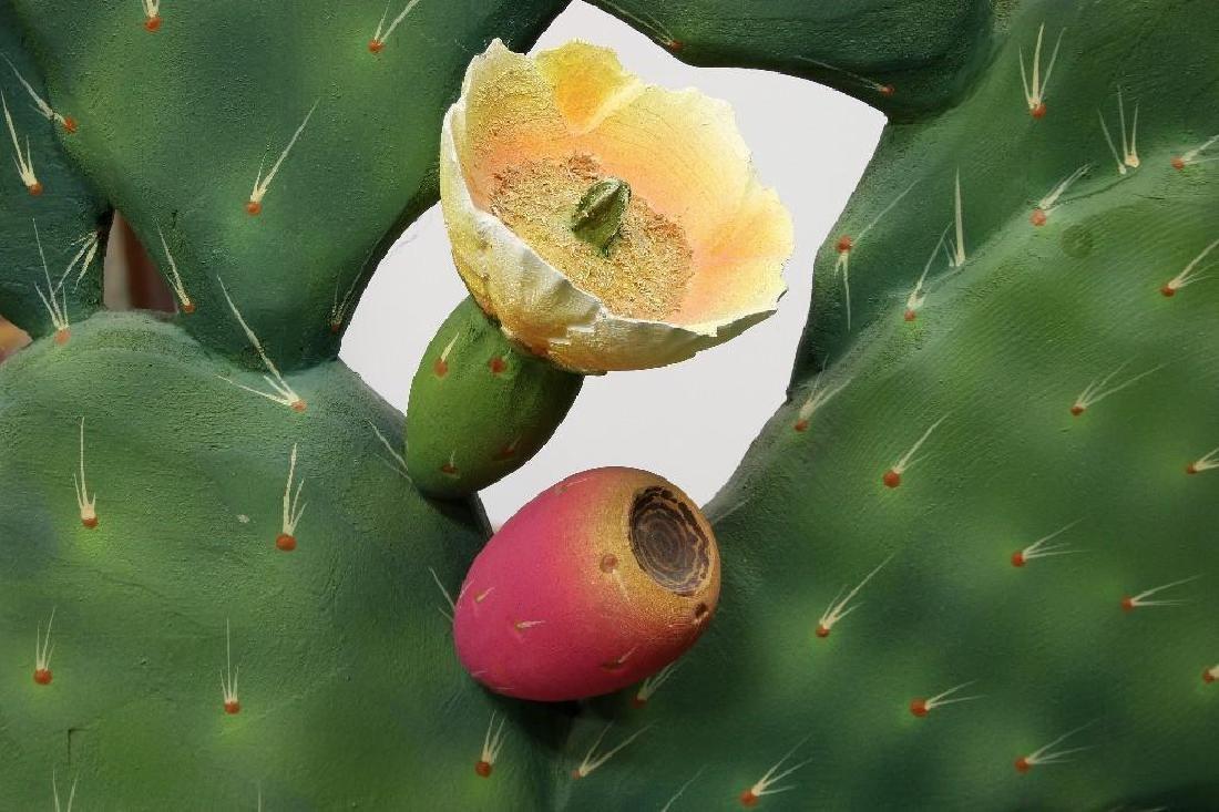 Zweifel Functional Art Folding Screen Flowering Cactus - 3