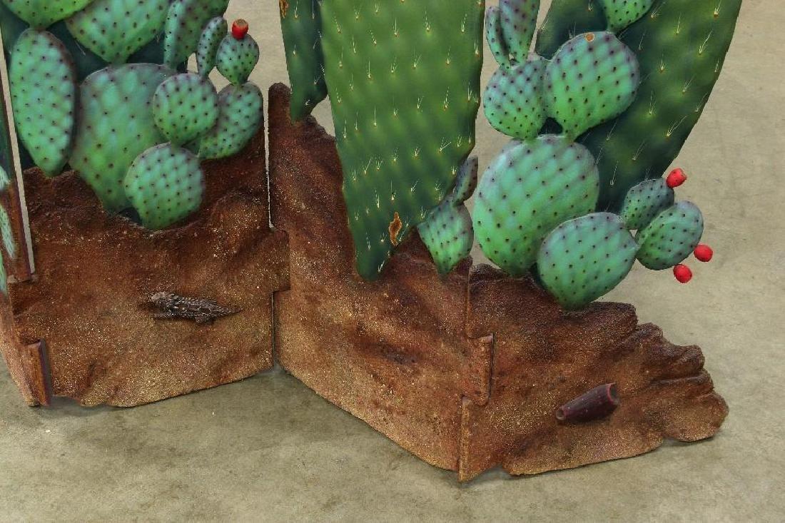 Zweifel Functional Art Folding Screen Flowering Cactus - 4