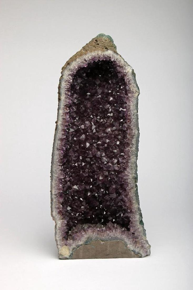 Massive Cut Amethyst Geode Self Standing