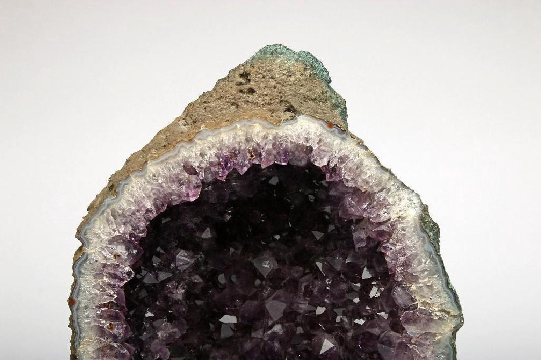 Massive Cut Amethyst Geode Self Standing - 6