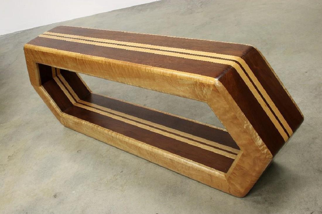 Stan Silbert Artisan Studio Furniture Console Table