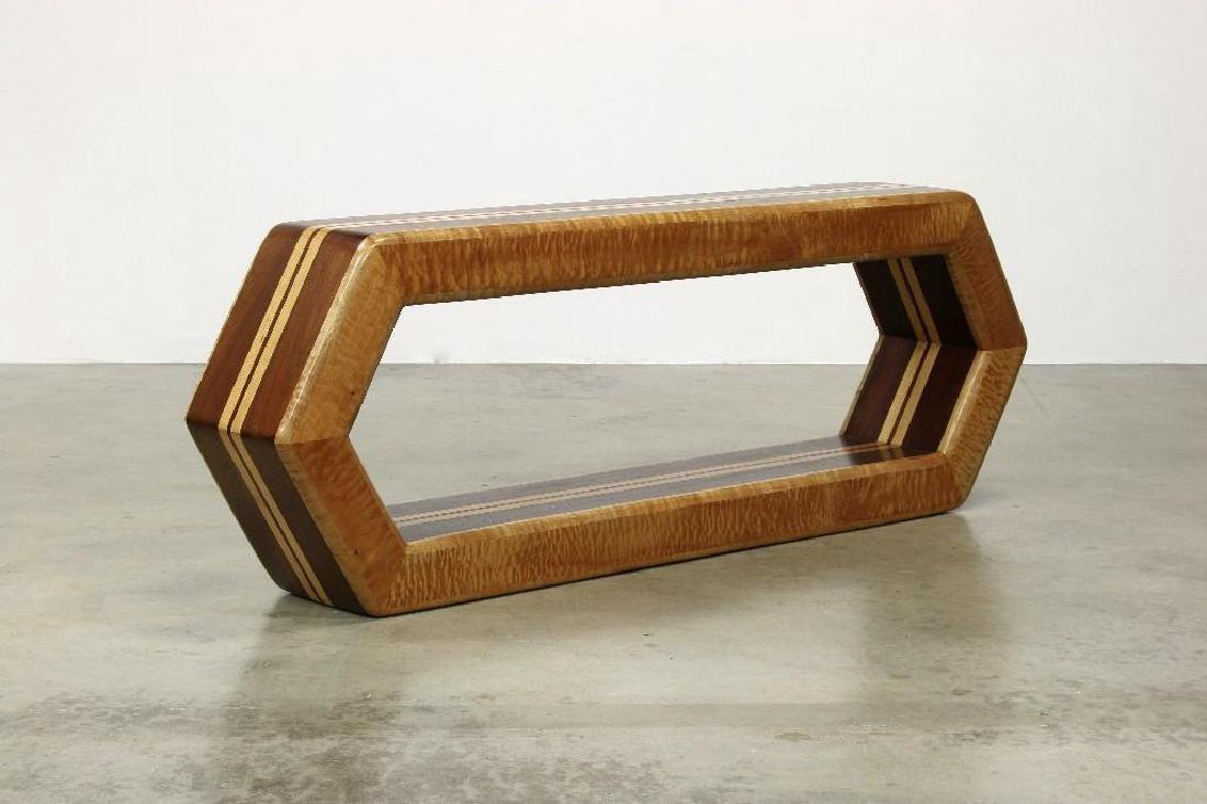 Stan Silbert Artisan Studio Furniture Console Table - 3