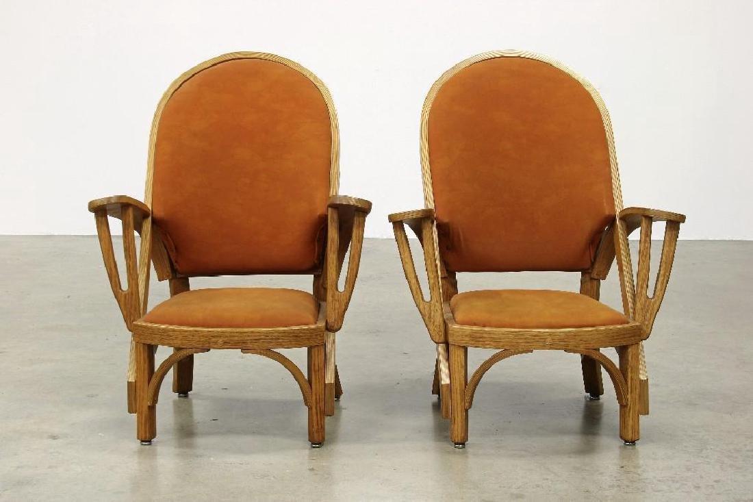 Norman Ridenour Bentwood Armchairs Contemporary Artisan - 2