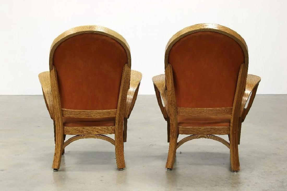 Norman Ridenour Bentwood Armchairs Contemporary Artisan - 3