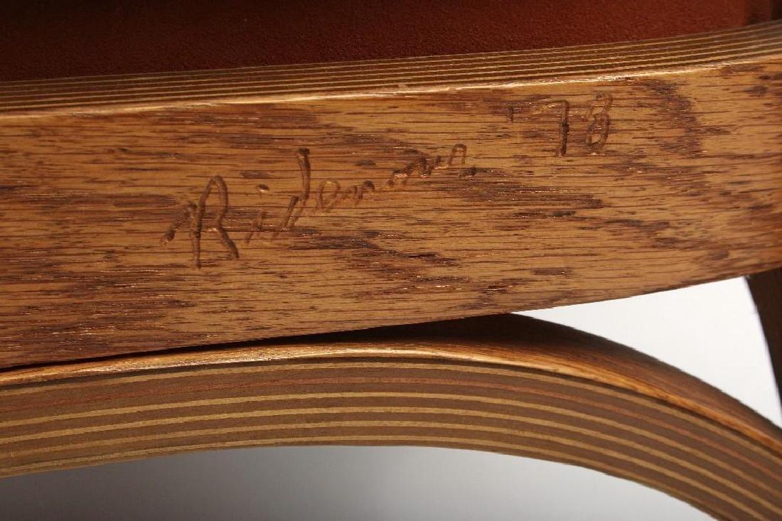 Norman Ridenour Bentwood Armchairs Contemporary Artisan - 4
