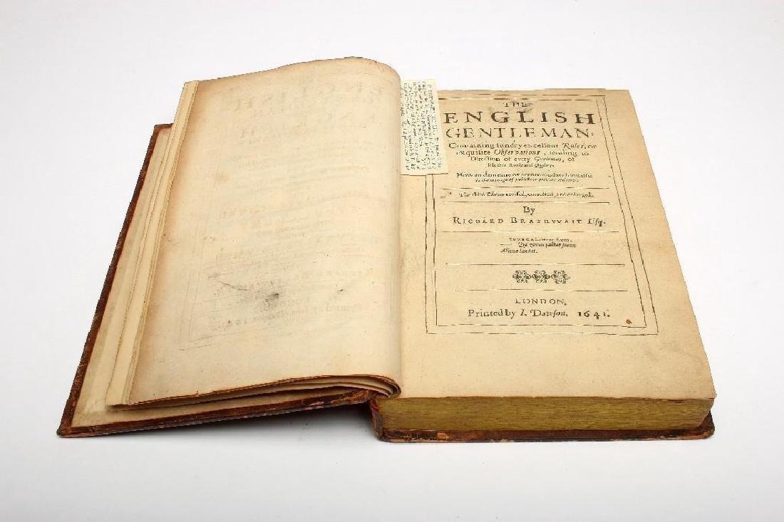 Richard Braithwaite 1641 English Gentleman Gentlewoman - 5