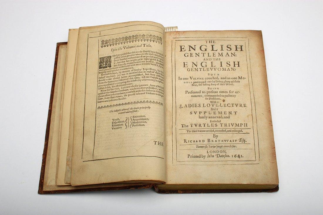 Richard Braithwaite 1641 English Gentleman Gentlewoman - 8