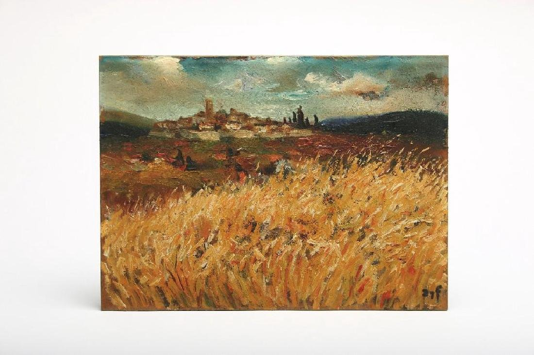 Marcel Dyf (1899-1985) French Landscape Oil Painting
