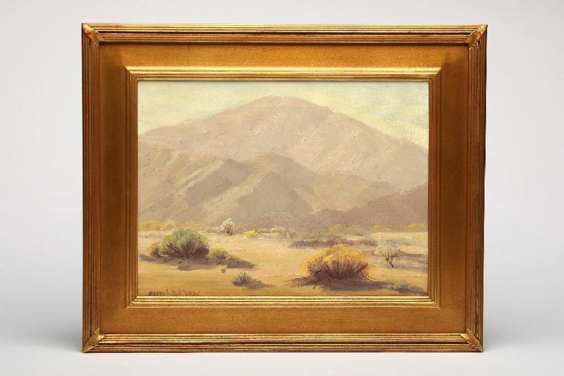 Naomi Taylor Evans California Desert Mountain Landscape