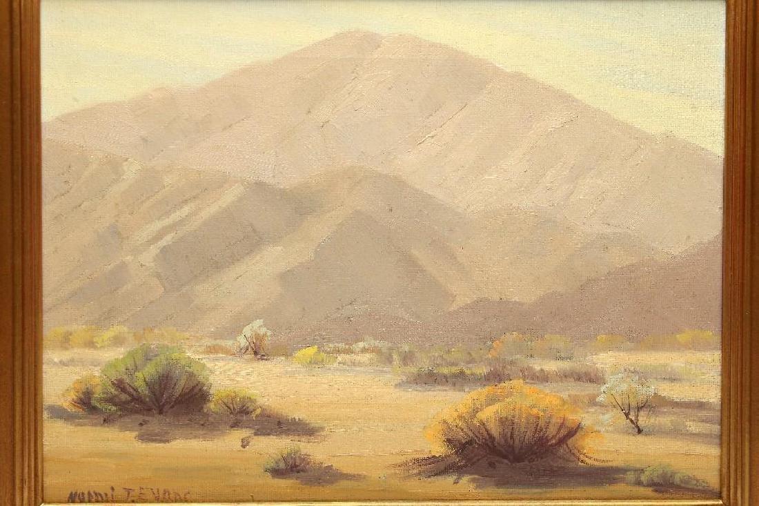 Naomi Taylor Evans California Desert Mountain Landscape - 2