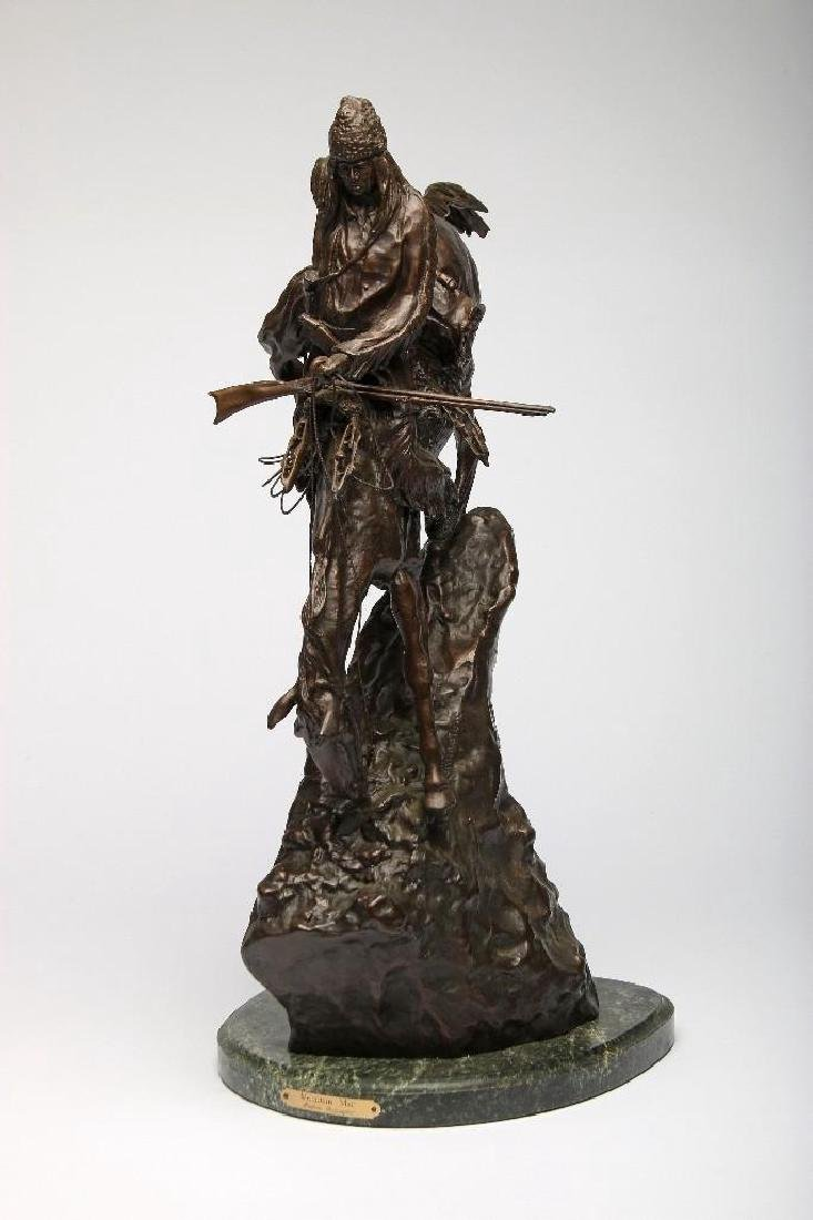 Remington Bronze Sculpture Mountain Man