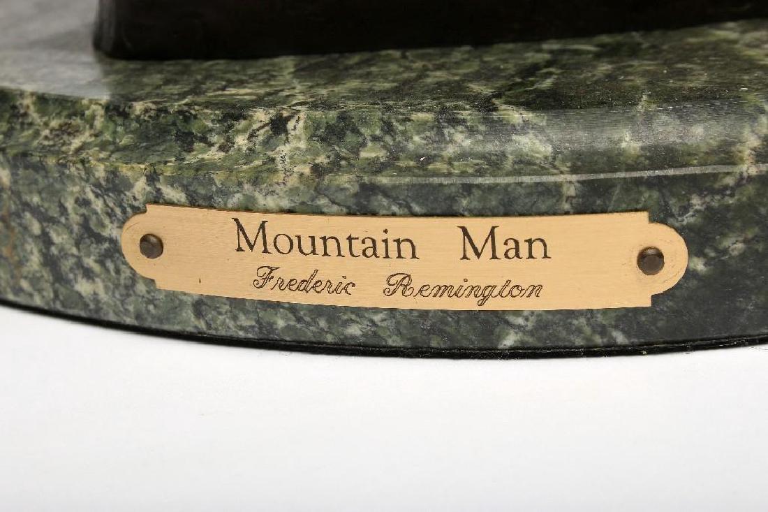 Remington Bronze Sculpture Mountain Man - 6