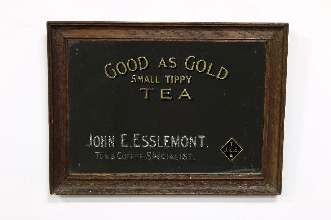 Two Advertising Mirrors Esslemont Tea Allsopps Ale - 3